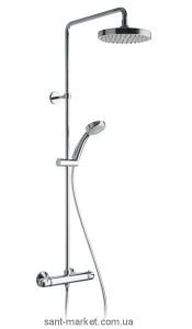 Alpi Joy, душевая коллона с верхним душем, ручным душем и терм. смесителем JO512151CR