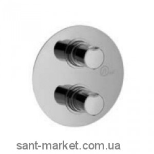 Смеситель с термостатом скрытый (встраиваемый) Alpi SPA коллекция City хром CI61163CR
