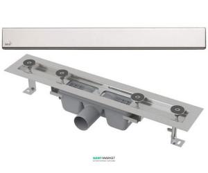 Желоб водосточный AlcaPlast боковой выпуск без затвора APZ2-Design-650L