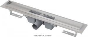Желоб водосточный AlcaPlast с сифоном и опорами без решетки APZ101-300
