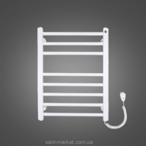 Электрический полотенцесушитель Instal Projekt VIKING Electro 530х700х95 лесенка белый VIKE-50/70C35