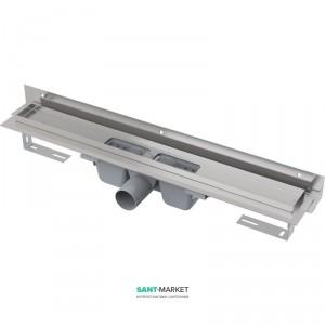 Желоб водосточный AlcaPlast боковой выпуск комбинированный затвор регулируемая высота APZ4-950