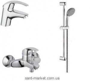 Набор смесителей для ванны Eurosmart New 121649