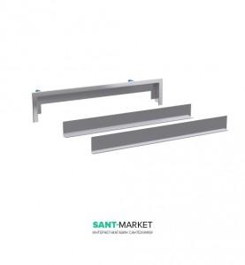 Декоративная накладка Geberit для душевого элемента под плитку с рамкой 154.339.00.1