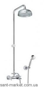 Fiore Margot Душевая колонна с ручным и верхним душем 26061490 Chrome