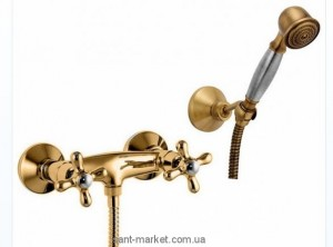 Fiore Margot смеситель для душа с ручным душем 26061300 Old Bronze
