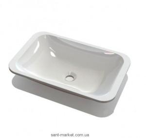 Раковина для ванной встраиваемая Marmite коллекция Aileen белая 20061003