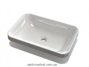 Раковина для ванной накладная Marmite коллекция Aino белая 19061003