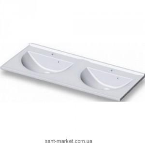 Раковина для ванной подвесная двойная Marmite коллекция Bianca белая 01101154203