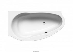 Ванна стальная угловая Kaldewei Studio асимметричная 170x90 правосторонняя mod 826-1 222200013001