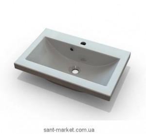 Раковина для ванной встраиваемая Marmite коллекция Jody белая 12138061103