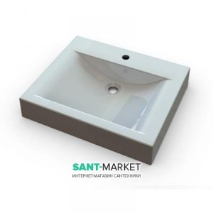 Раковина для ванной подвесная Marmite коллекция Lilly белая 01179061103