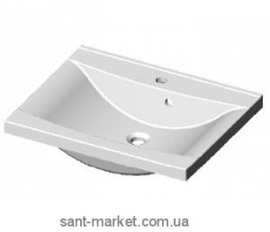 Раковина для ванной подвесная Marmite коллекция Lucia белая 01050081103