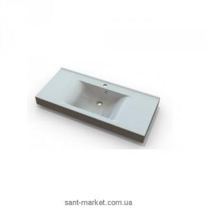 Раковина для ванной подвесная умывальник-столешница Marmite коллекция Nadja белая 01168121103