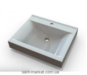 Раковина для ванной подвесная Marmite коллекция Nadja белая 01168071103