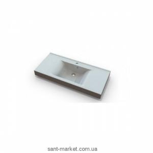 Раковина для ванной подвесная умывальник-столешница Marmite коллекция Nadja белая 01168081103