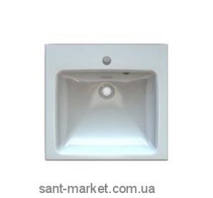Раковина для ванной подвесная Marmite коллекция Nicole белая 01012061103
