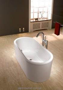 Ванна стальная отдельностоящая Kaldewei Centro Duo Oval 180x80 с облицовочными панелями mod 128-7 282848050001