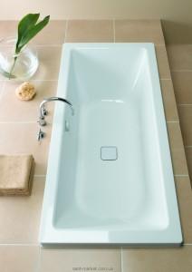 Ванна стальная отдельностоящая Kaldewei Conoduo 200x100 с облицовочной панелью mod 735-7 235348050001