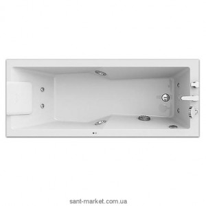 Ванна акриловая прямоугольная Jacuzzi коллекция Energy 180х80х57 9F43-785A Sx