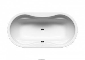 Ванна стальная отдельностоящая Kaldewei Mega Duo Oval 180х90 с облицовочными панелями mod 184-7 223848050001