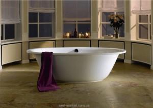 Ванна стальная отдельностоящая Kaldewei Ellipso Duo Oval 190x100 mod 232-1 286200010001