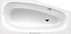 Ванна стальная Kaldewei Mini асимметричная 157x70 левая 225200010001