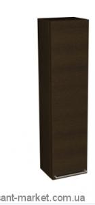 Kolo DOMINO фасад к шкафчику боковому, верхнему, правому 30 x 120 x 25 см, венге, с ручкой 88404000