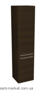 Kolo DOMINO фасад верхний к шкафчику боковому, высокому, правому, с корзиной 37 x 160 x 34 см, венг