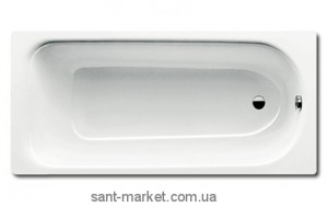 Ванна стальная Kaldewei Saniform прямоугольная 175x75 белая mod 374 112200010001