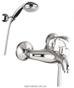 Смеситель однорычажный для ванны с душем Fiore коллекция Jafar хром 47CR5100 Chrome