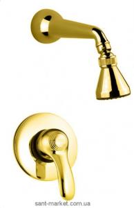 Смеситель для душа Fiore Jafar Sky с душевым набором с камнями Сваровскии бронза 84CR5131 Old Bronze