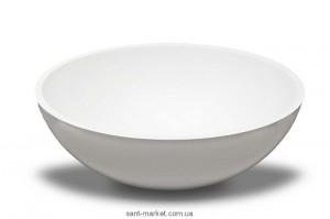 Раковина для ванной накладная Буль-Буль коллекция Mona белая 0304101