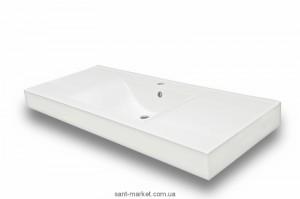 Раковина для ванной накладная Буль-Буль коллекция Nadja белая 0212101