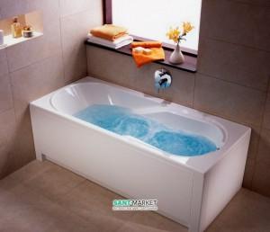 Ванна гидромассажная акриловая Kolo Comfort 150х75х44 белая