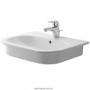 Раковина для ванной встраиваемая Duravit коллекция D-Code белая 03375400002