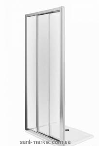 Душевая дверь в нишу Kolo FIRST стеклянная раздвижная на роликах 100х190 ZDRS10214003