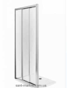 Душевая дверь в нишу Kolo FIRST стеклянная раздвижная 80х190 ZDRS80222003