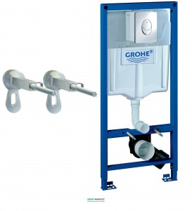 Система инсталляции для подвесного унитаза Grohe Rapid SL 3в1 50х113х14,5 38721001