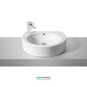 Раковина для ванной накладная Roca коллекция Happening белая 327562000