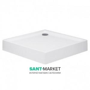 Душевой поддон акриловый квадратный Huppe Xerano 90х90х15 белый 840102.055