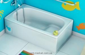 Ванна стальная  Aquart 105х70 прямоугольная с сиденьем B05E2200Z