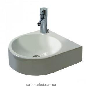 Раковина для ванной подвесная полукруглая Duravit Architec 36х38х15 белая 0766350000