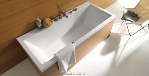 Ванна гидромассажная акриловая Duravit Vero 180х80х48 760135004161000 + подсветка