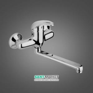 Смеситель для кухни Emmevi Luxor однорычажный мат-хром SC7005R