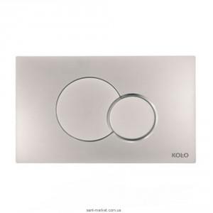 Kolo ECLIPSE 2 спускная кнопка для TECHNIC GT 24*15*0,6 см,хромированная матовая (пол.) 94150-003