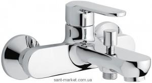 Смеситель однорычажный для ванны с коротким изливом EMMEVI коллекция Nefer хром CR77001