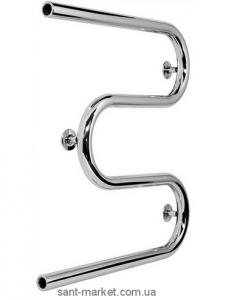 Водяной полотенцесушитель Laris коллекция Змеевик М-образный 400х600х67 хром 71207375