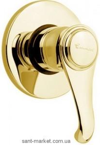 Смеситель для душа встраиваемый EMMEVI коллекция Tiffany золото OR6009