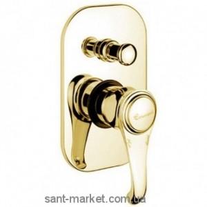 Смеситель скрытый (встраиваемый) EMMEVI коллекция Tiffany золото OR6019